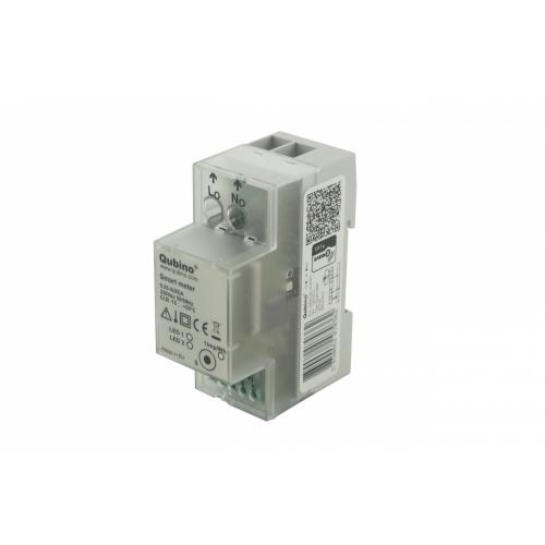 Фотография товара - Измеритель энергопотребления на DIN-рейку для 1 фазной сети с током до 65А Qubino Smart Meter