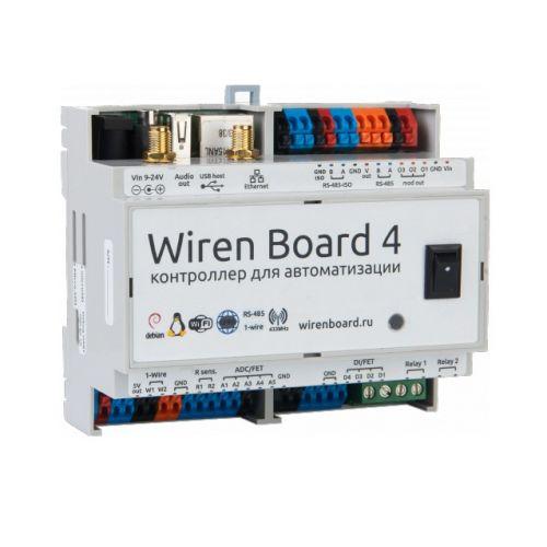 Фотография товара - Контроллер на DIN-рейку Wiren Board Z-Wave