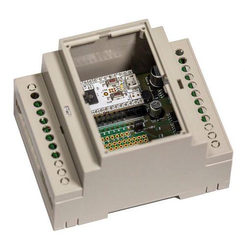 Фотография товара - Z-Uno Shield — Многофункциональное Z-Wave устройство в корпусе на DIN-рейку