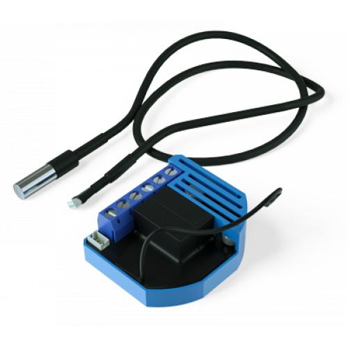 Фотография товара - Встраиваемый модуль-термостат с сенсором для климатических устройств Qubino Heat&CoolThermostat