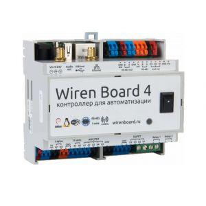 Контроллер на DIN-рейку Wiren Board Z-Wave