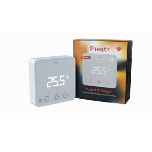 Настенный комнатный термостат Heatit Z-TEMP2 (белый)
