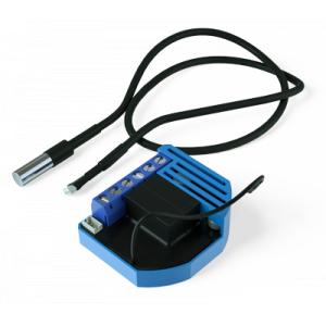 Встраиваемый модуль-термостат с сенсором для климатических устройств Qubino Heat&CoolThermostat